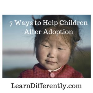 Adoptive & foster kids have learning challenges, too, sometimes.
