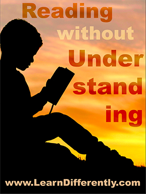 Reading without Understanding