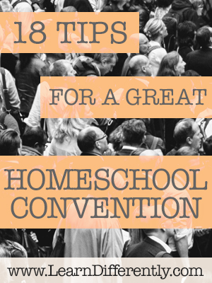 homeschool convention tips