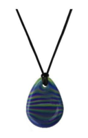 A Chewigem chewable pendant necklace.