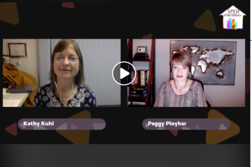 Image of Kathy and Peggy Ployhar talking on Facebook event.