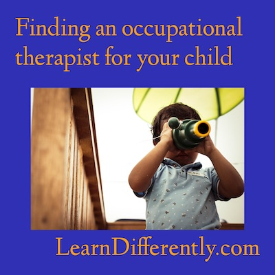 Finding an OT for your child