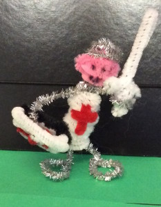 pipe cleaner knight