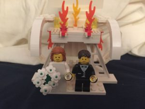 Lego bride and groom