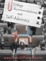 College Accommodations and Self-Advocacy