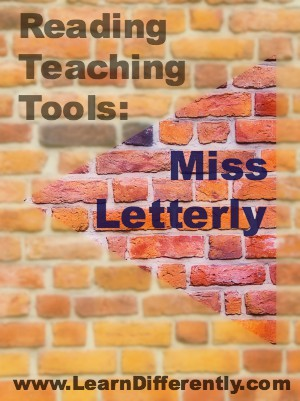 Reading Teaching Tools: Miss Letterly