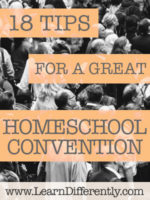 homeschool convention tips
