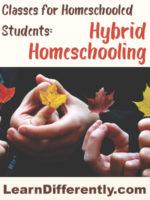 classes for homeschoolers