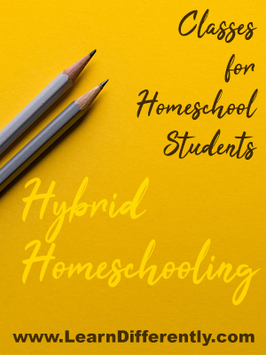 classes for homeschoolers