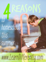 summer homeschool