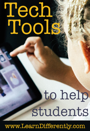 tech tools to help students