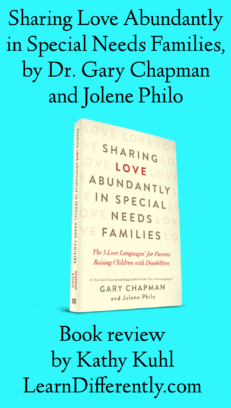 Book Cover: Sharing Love Abundantly in Special Needs Families